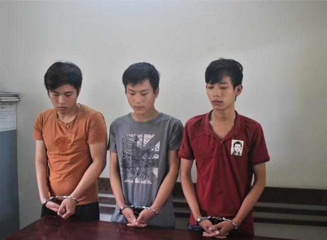 quang nam tom gon 3 doi tuong dung dao cuop tai san