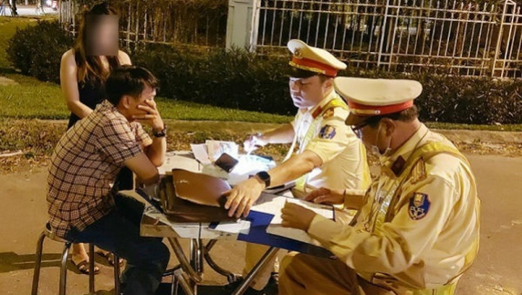 Đà Nẵng phạt nặng nhiều trường hợp lái xe sau khi uống rượu bia