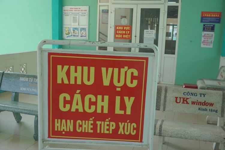 da nang huong dan to chuc cach ly y te tai cac co so kham chua benh