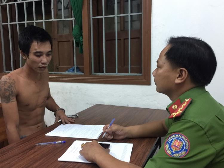 Đà Nẵng: Bắt khẩn cấp đối tượng dùng hung khí tấn công lực lượng Công an