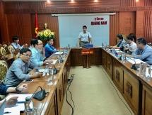 Quảng Nam: Thống nhất phương án quy hoạch tổng thể mặt bằng Bệnh viện Đa khoa tỉnh