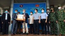 Quảng Nam hỗ trợ thiết bị y tế phòng dịch Covid-19 cho tỉnh Sê Kông-Lào