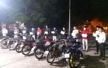 Quảng Nam: Xử lý nhóm thanh thiếu niên tổ chức đua xe trái phép
