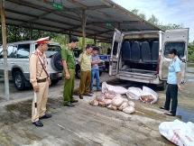 Quảng Nam: Bắt giữ 500 kg thịt lợn và mỡ động vật thối