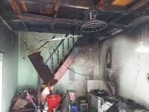Đà Nẵng: Cháy nhà chuyên bán đồ ăn cho học sinh