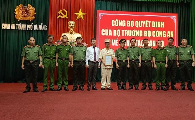 pho giam doc cong an quang nam duoc dieu dong lam pho giam doc cong an da nang