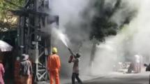Quảng Nam: Người dân hoảng hốt khi công tơ điện bất ngờ bốc cháy