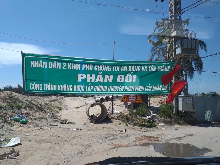 Quảng Nam: Doanh nghiệp chặn đường dân sinh, dân bức xúc