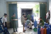 Đà Nẵng: Ngăn chặn hàng nghìn bóng cười không rõ nguồn gốc tuồn ra thị trường