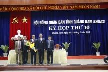 Ông Phan Việt Cường được bầu giữ chức danh Chủ tịch HĐND tỉnh Quảng Nam