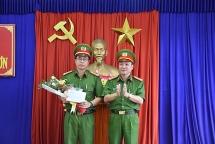 Công an huyện Thăng Bình và Quế Sơn được thưởng nóng sau khi phá thành công chuyên án cướp tài sản