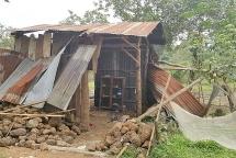 Kon Tum: Chòi rẫy bị sập, 2 vợ chồng chết thương tâm