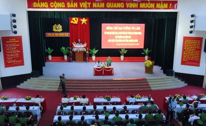 bo truong to lam cong an quang nam thuc hien tot phuong cham an ninh chu dong