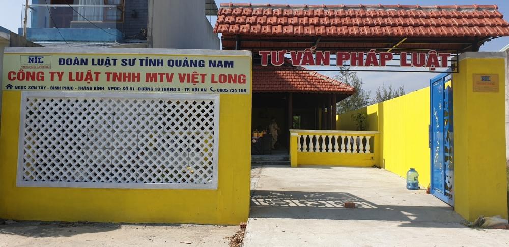Bố cáo thành lập Công ty Luật TNHH MTV Việt Long