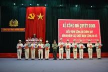 Quảng Nam: Điều động Công an chính quy đảm nhiệm các chức danh Công an xã