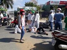 Quảng Nam: Xe tải lao vào đoàn người đưa tang ở Điện Bàn 3 người bị thương