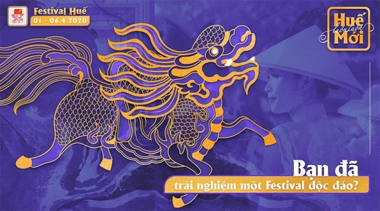 chon 4 linh vat lam hinh anh nhan dien festival hue 2020
