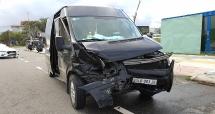 Đà Nẵng: Va chạm giữa 2 xe ô tô 4 người bị thương nặng