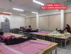 Xét nghiệm COVID-19 cho 1.500 học sinh tiểu học Xuân Phương