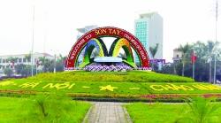 Thị xã Sơn Tây tạo đột phá xây dựng đô thị xanh