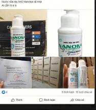 Công ty Bell Đức phủ nhận sản xuất nước rửa tay khô NaNoKa