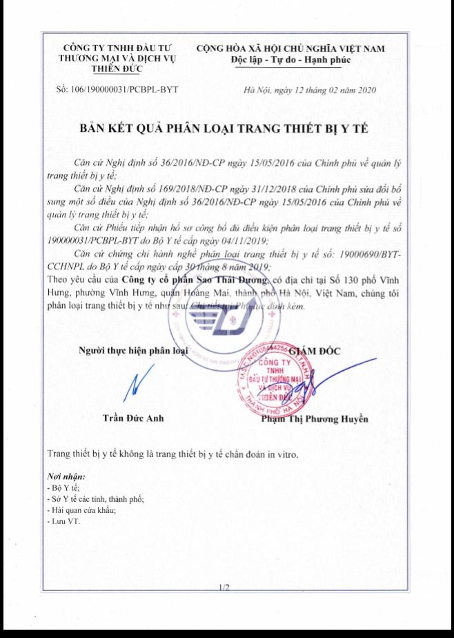 lo hong trang thiet bi y te doanh nghiep phan loai co thuc su khach quan