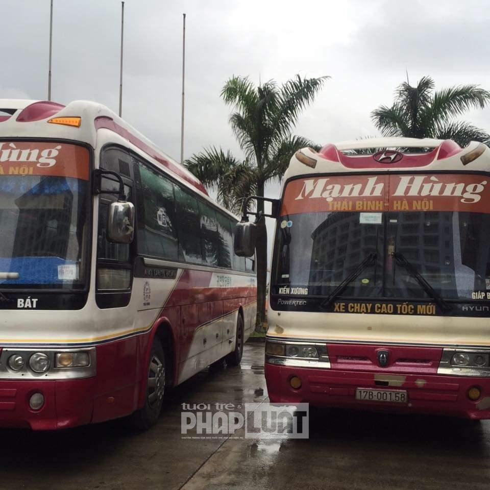 Tìm người đi xe khách Mạnh Hùng từ Giáp Bát về Kiến Xương, Thái Bình