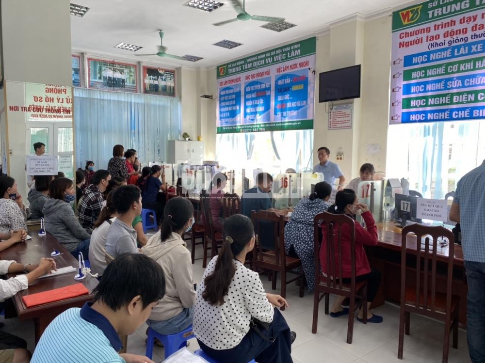 Thái Bình: 1.000 lao động đăng ký tìm việc qua website trong đợt giãn cách xã hội