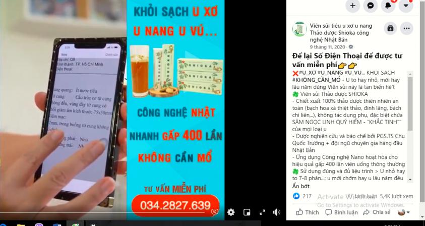 Quảng cáo thổi phồng viên sủi SHIOKA, NSND Hồng Vân xin lỗi, còn Vân Dung, Thanh Hương thì sao?