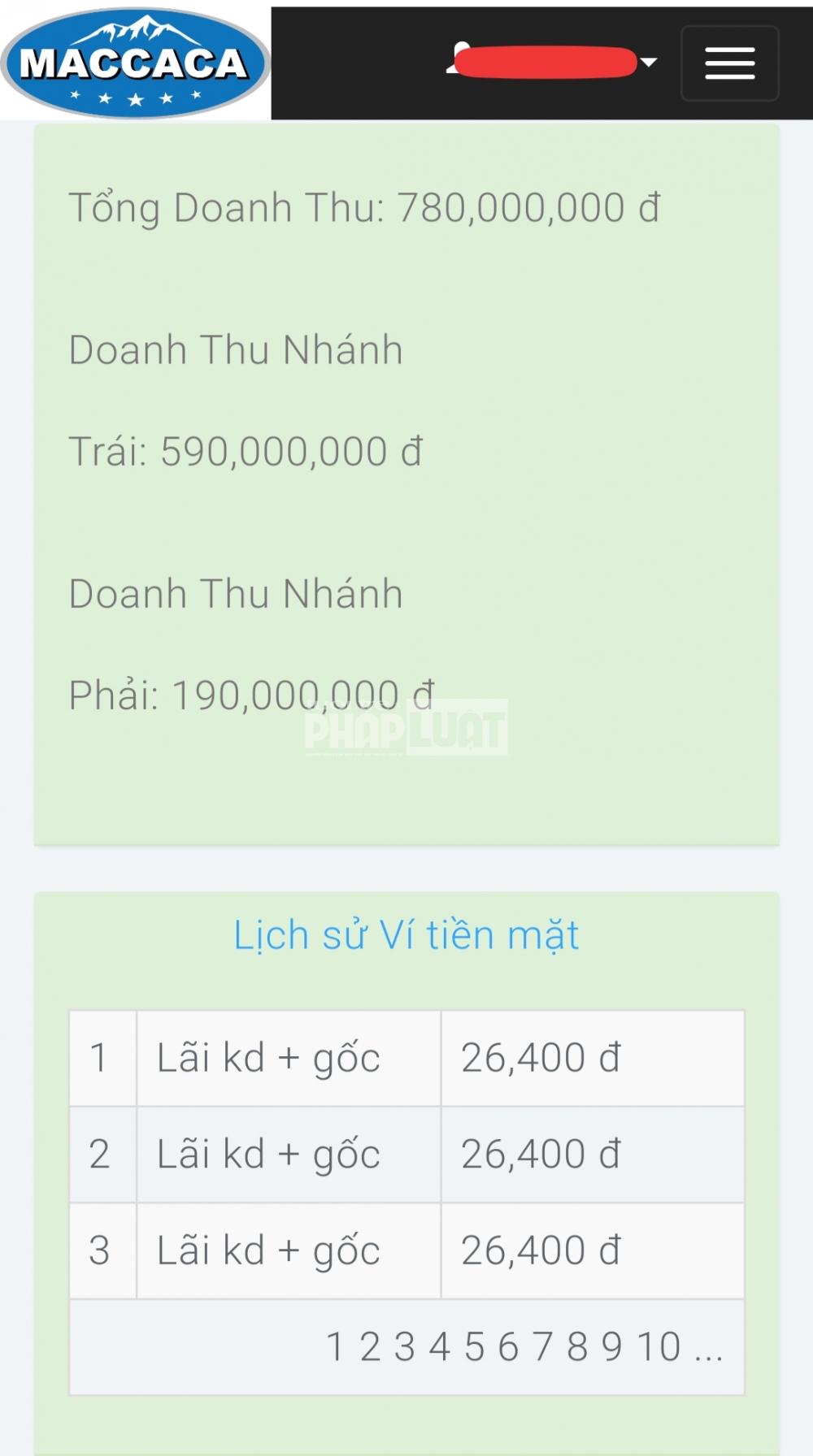 cong ty macca nutrition rao ban co phan de huy dong von hay kinh doanh da cap tra hinh