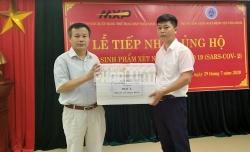 Thái Bình: Doanh nghiệp đồng hành cùng cơ quan Y tế phòng chống dịch Covid-19