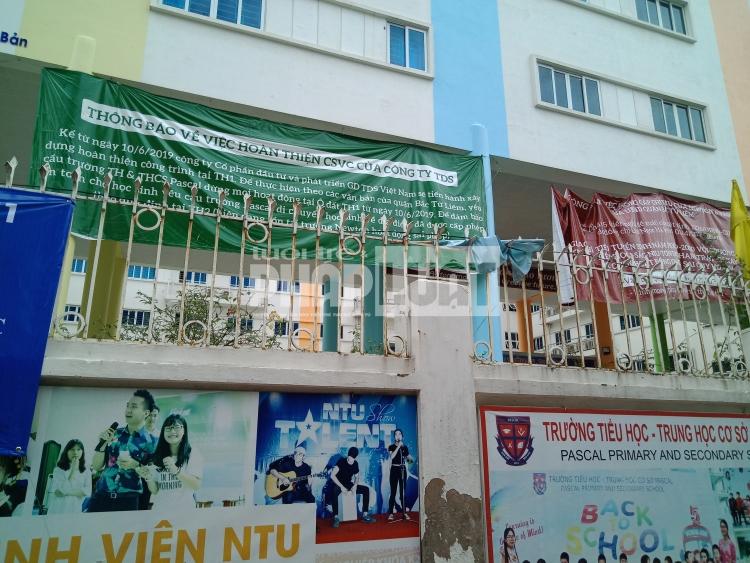 Vụ tranh chấp trường Pascal: Hàng trăm phụ huynh học sinh tiếp tục kêu cứu