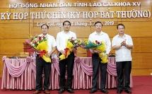 giam doc so giao thong van tai xay dung lao cai duoc bau lam pho chu tich ubnd tinh