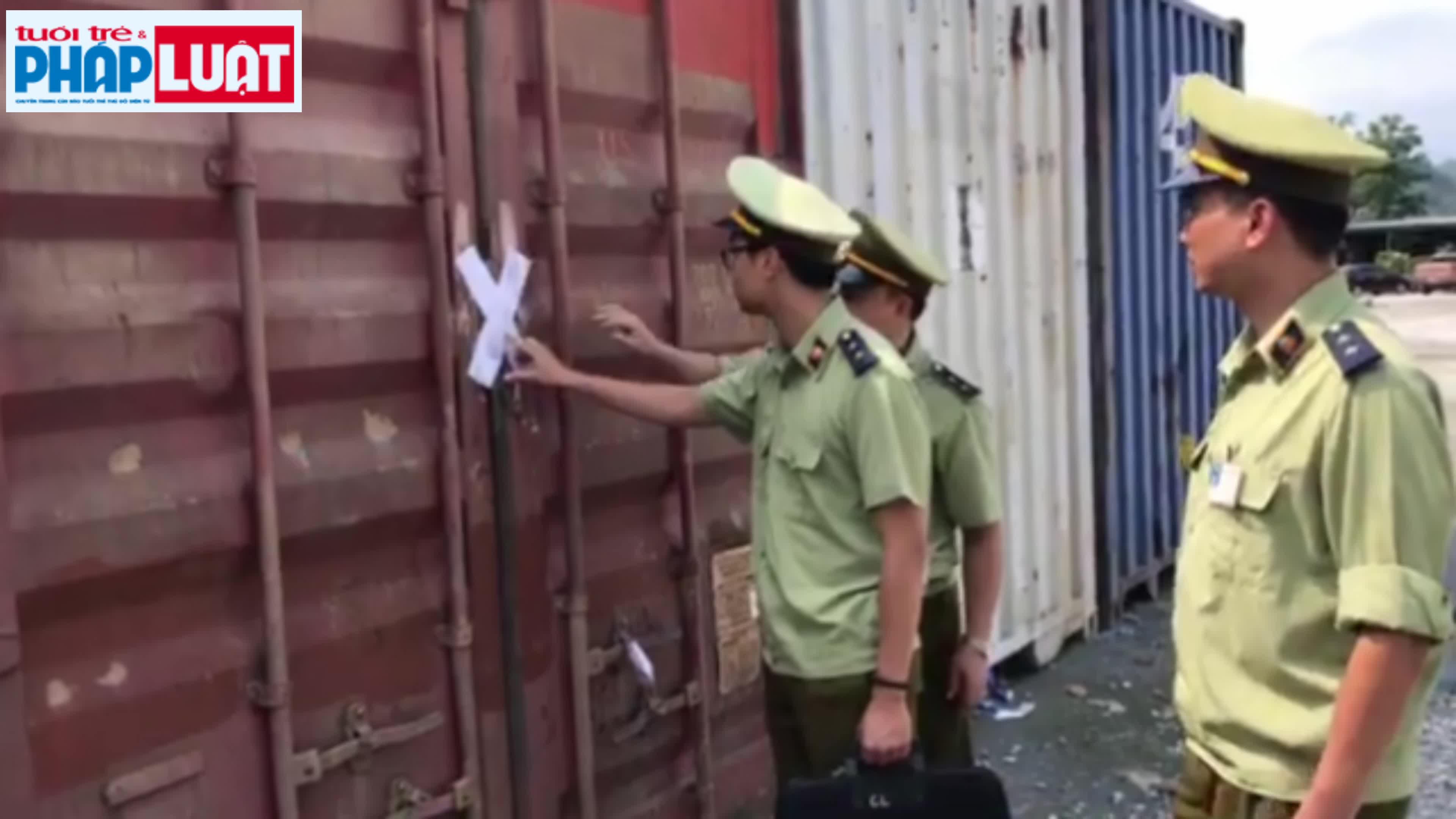 can canh 16 container chua hon 440 tan hat de nhap lau bi bat o lao cai