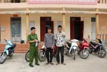 Điện Biên: Làm rõ thủ đoạn của nhóm đối tượng 10X trộm xe máy chuyên nghiệp