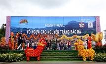 Khai mạc Festival Vó ngựa Cao nguyên trắng Bắc Hà 2019