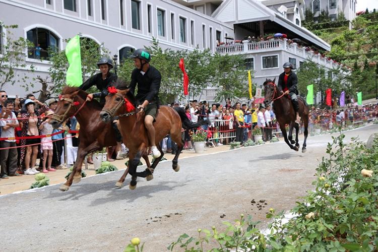 """Khai mạc Lễ hội """"Vó ngựa trên mây"""" ở Sa Pa"""