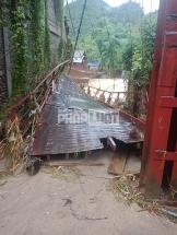 Sa Pa (Lào Cai): Lũ lớn cuốn phăng cầu dân sinh