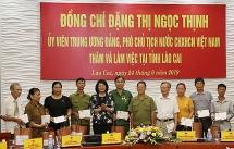 pho chu tich nuoc dang thi ngoc thinh lam viec voi tinh lao cai