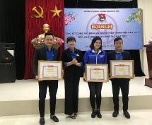 Nhiều tập thể, cá nhân Đoàn Cơ quan Thành đoàn Hà Nội được khen thưởng