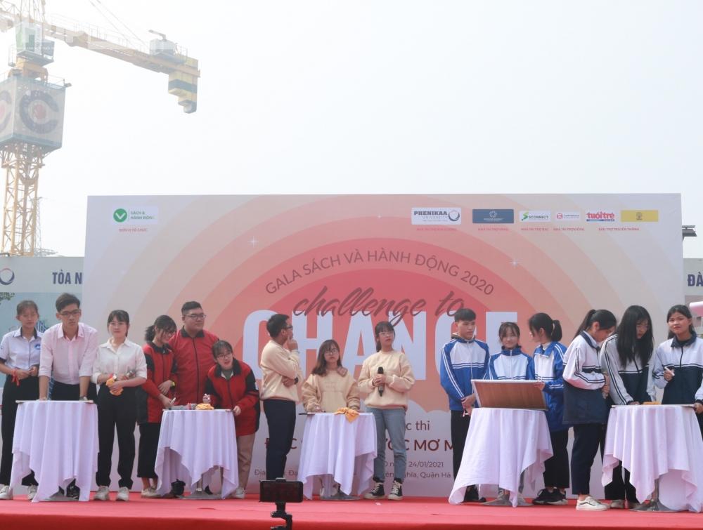 5 đội thi có mặt tại vòng chung kết bao gồm: Bay, 600 Hz, CBG's Youth, Vietnam in my heart và Khoảnh