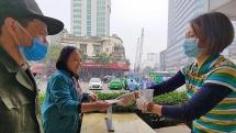 75.000 khẩu trang phát miễn phí cho người dân Hà Nội