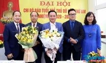 Đồng chí Nguyễn Mạnh Hưng tái đắc cử chức danh Bí thư Chi bộ Báo Tuổi trẻ Thủ đô khóa XIV