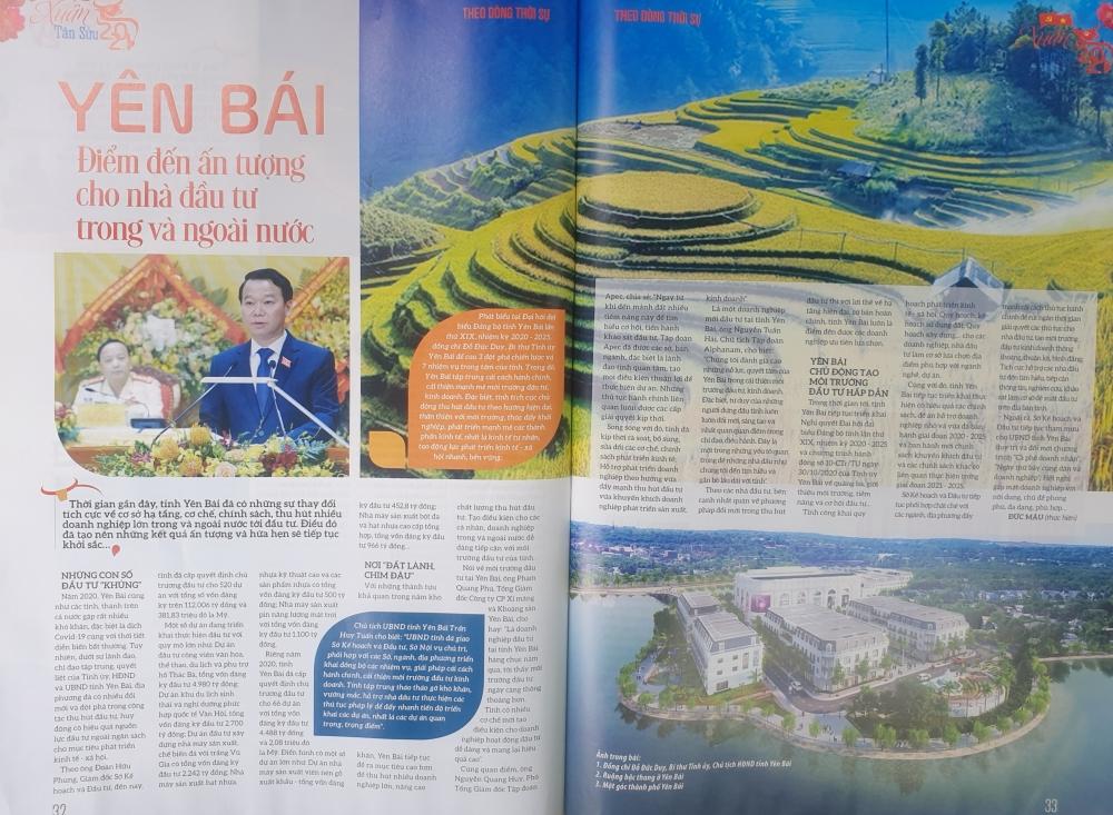 Hội báo Xuân Tân Sửu 2021 tỉnh Yên Bái với hàng nghìn đầu báo tham dự