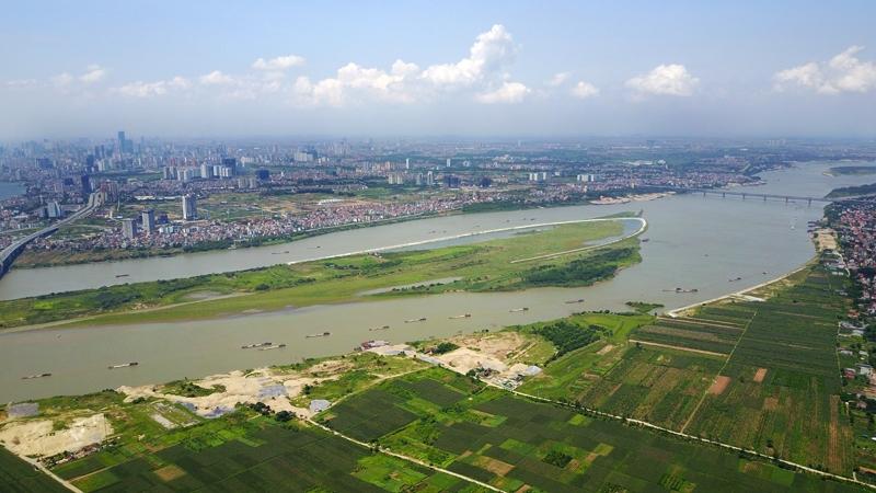 Hà Nội đã có quy hoạch phân khu sông Hồng