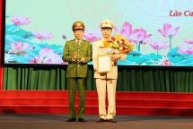 Đại tá Lưu Hồng Quảng được bổ nhiệm làm Giám đốc Công an tỉnh Lào Cai