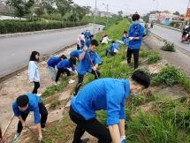 Tuổi trẻ sáng tạo thực hiện các hoạt động trong Tháng Thanh niên