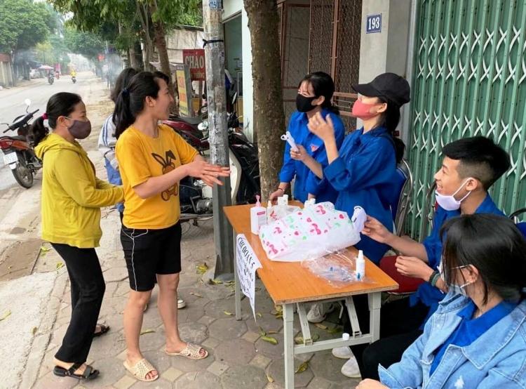 Nhiều hoạt động tình nguyện của thanh niên huyện Đông Anh