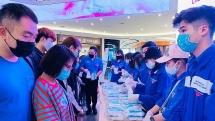 Tuổi trẻ Hà Đông tặng 1.000 khẩu trang để phòng dịch