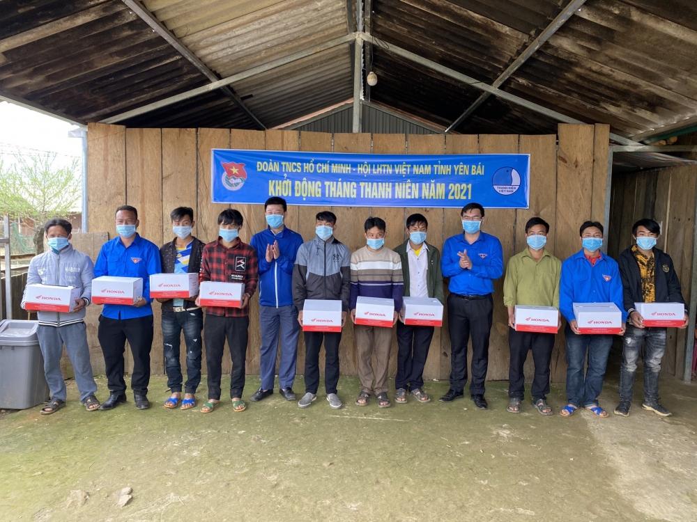 Tuổi trẻ Yên Bái khởi động Tháng Thanh niên 2021 tại bản vùng cao